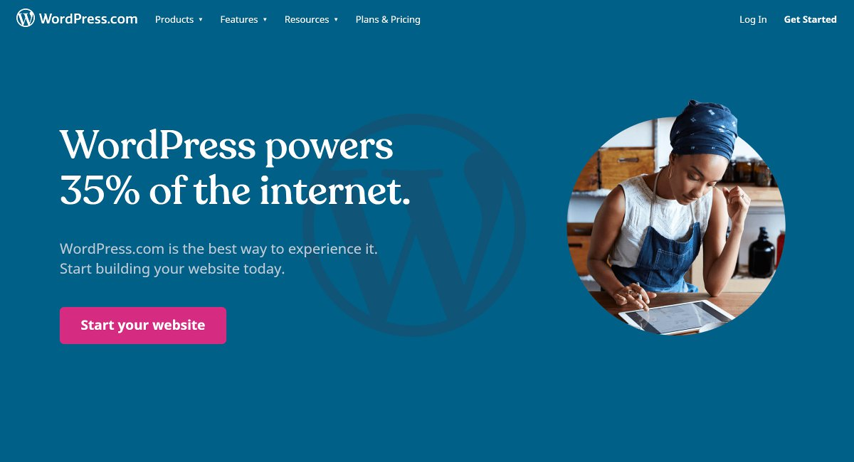 wordpress com blog site