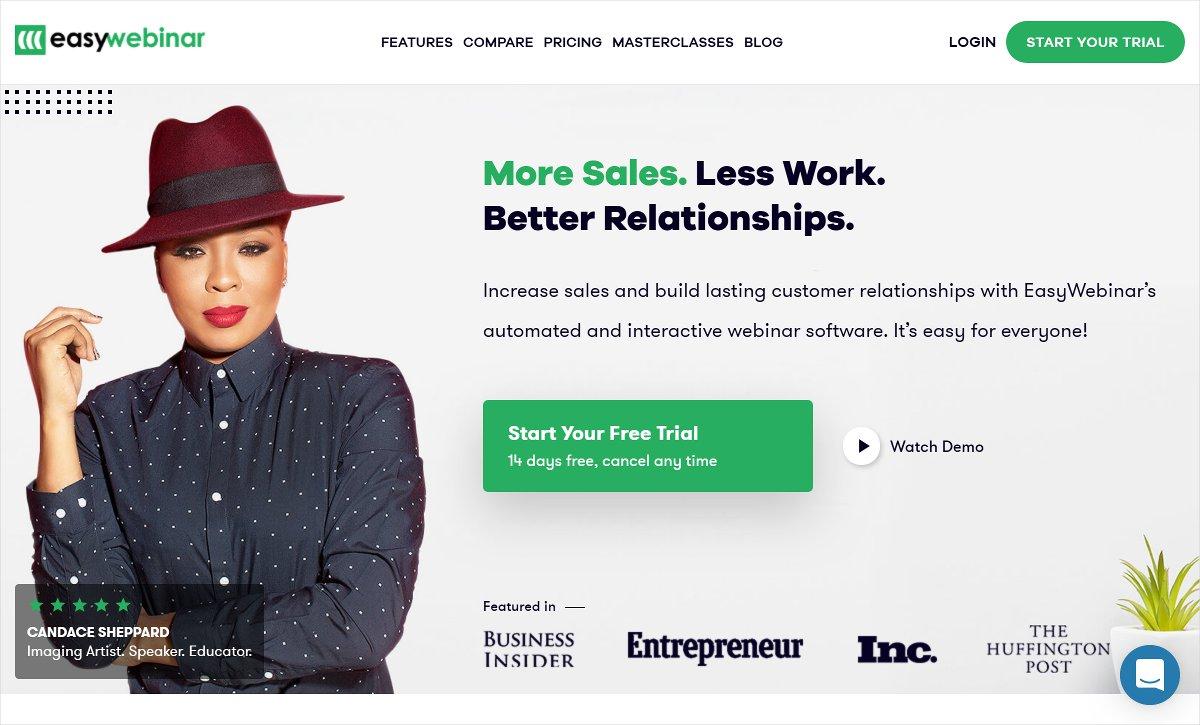 easywebinar top webinar software solutions