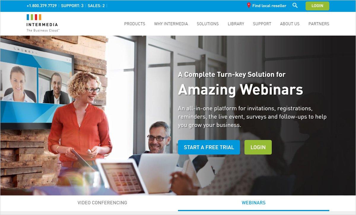 intermedia anymeeting webinars