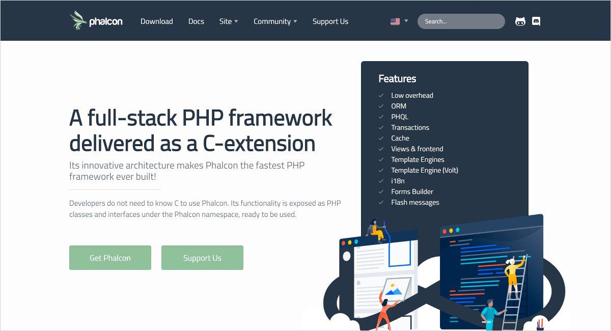 phalcon open source php framework