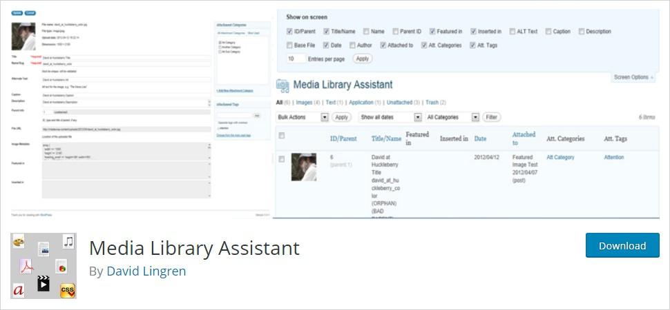 Enhanced Media Library WordPress plugin
