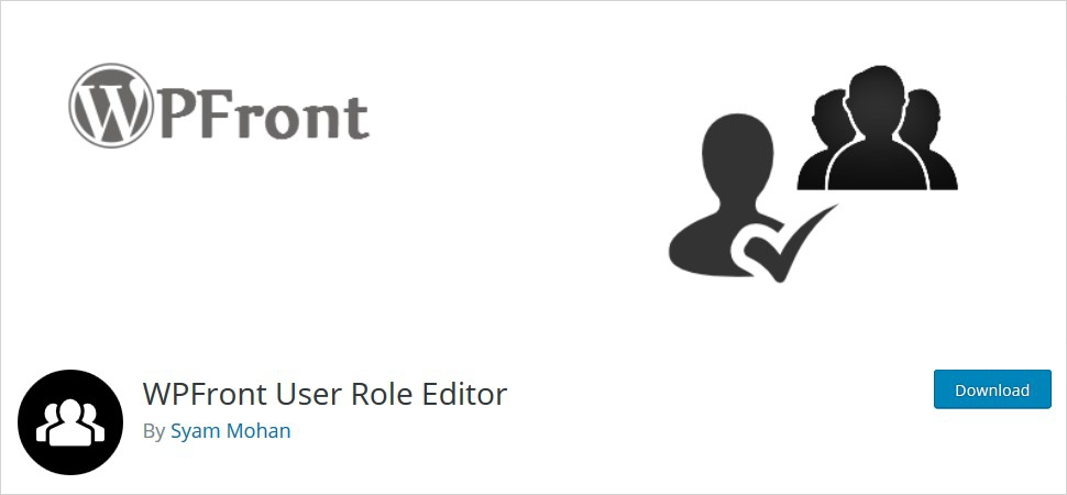 wp front user role editor