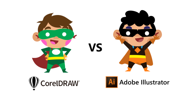 coreldraw vs illustrator differences