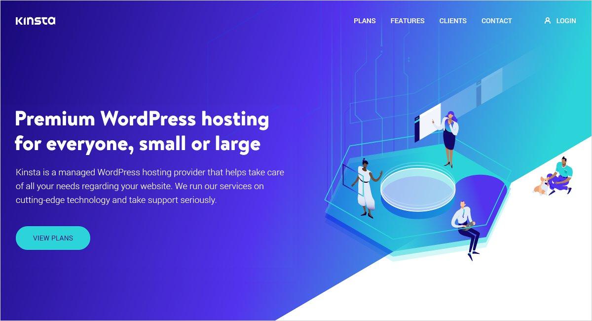 kinsta wordpress hosting providers