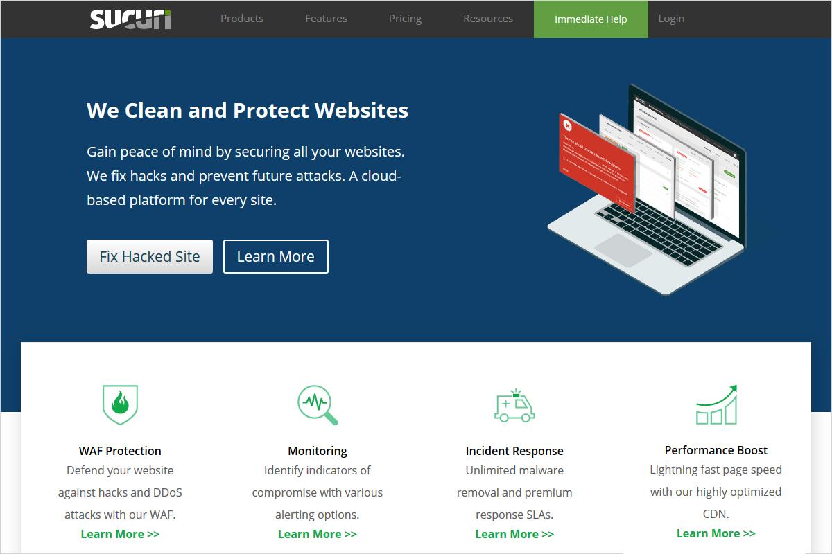 sucuri WordPress firewall plugin