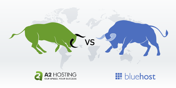 A2 Hosting vs Bluehost differences