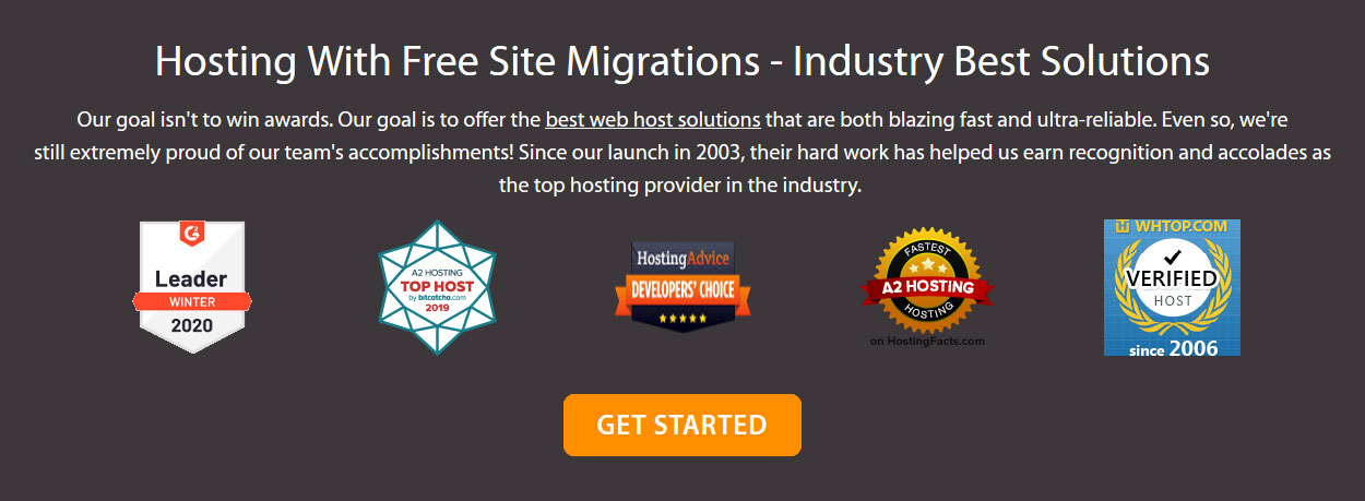 a2hosting free site migration