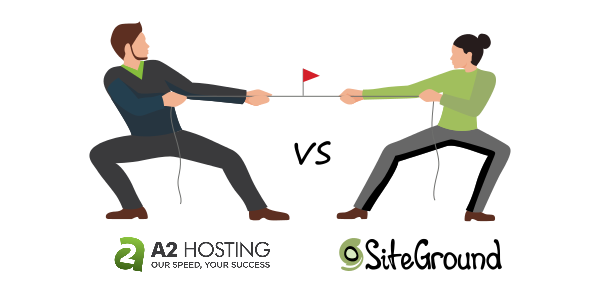 a2hosting vs siteground differences
