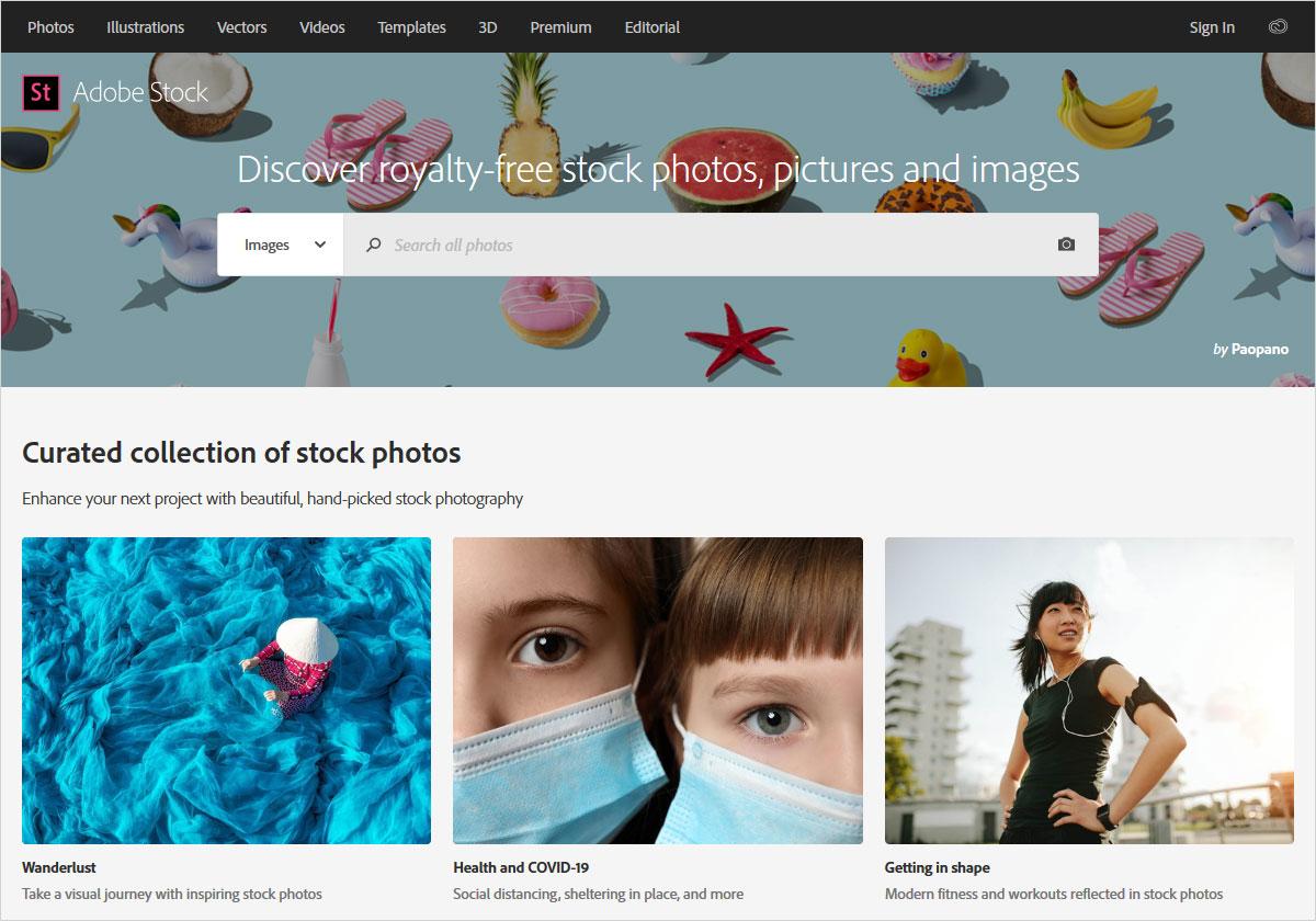 photoshop stock photos