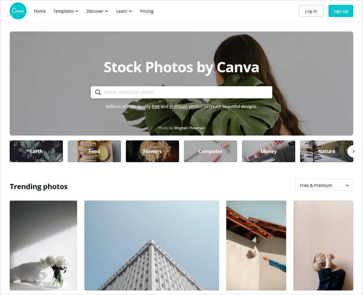 canva stock photos