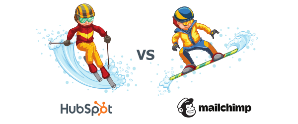 hubspot vs mailchimp differences