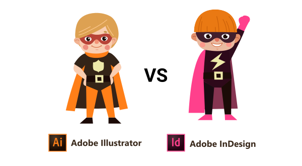 indesign vs illustrator differences