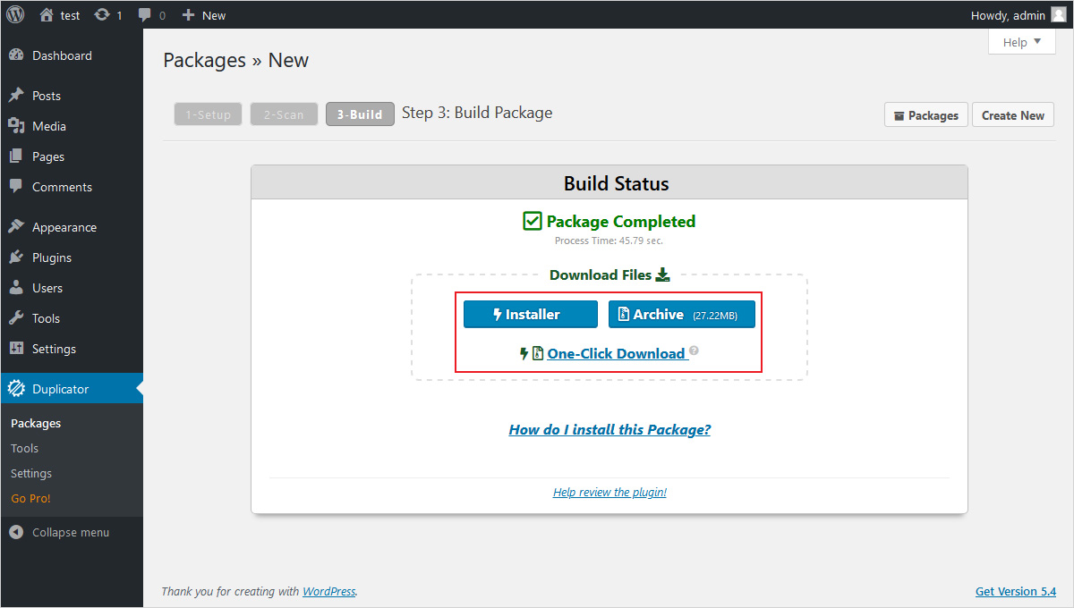 move wordpress site to new domain with duplicator wordpress plugin (2)