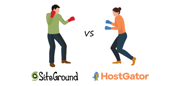 siteground vs hostgator differences