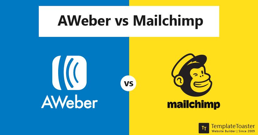 AWeber vs Mailchimp