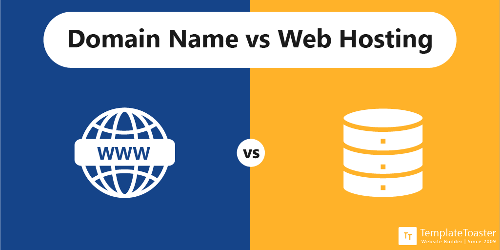 Domain vs Web Hosting Differences - TemplateToaster Blog