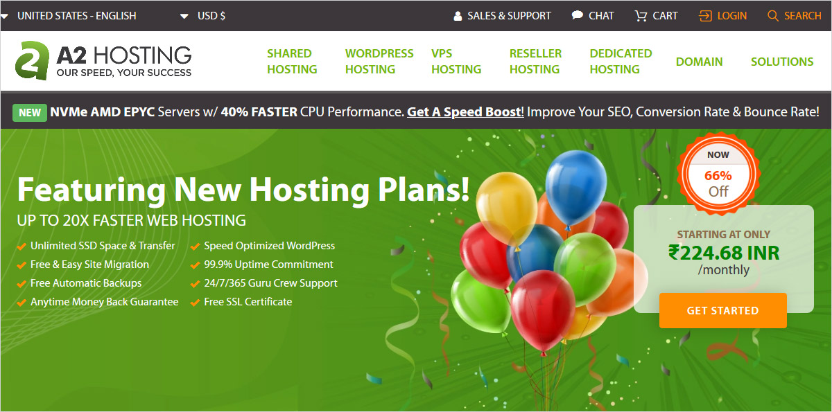 a2hosting domain registrar