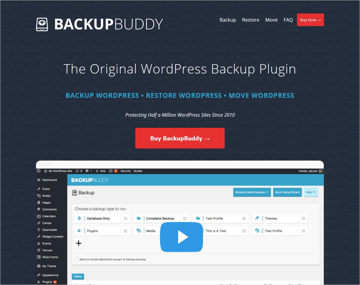 backupbuddy wordpress migration plugins