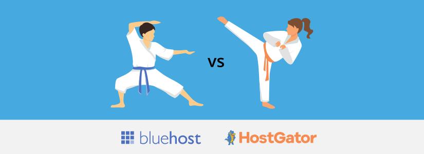bluehost vs hostgator differences