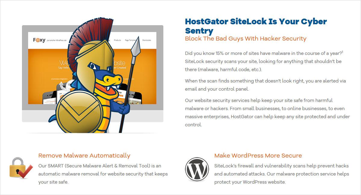 hostgator security