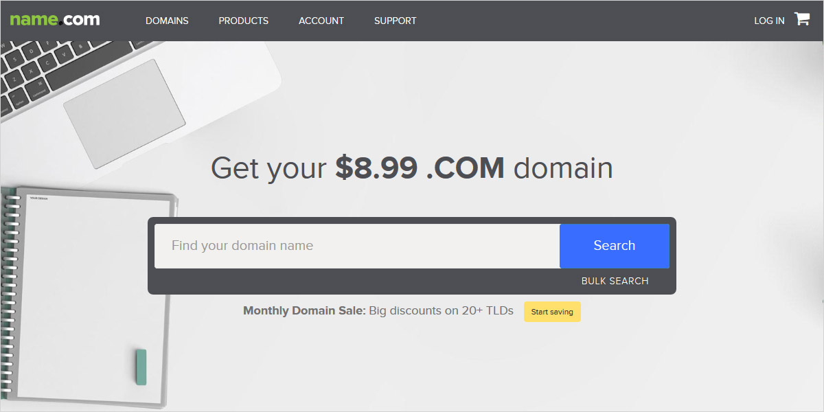 name.com domain registrar