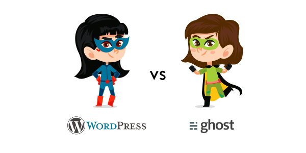 wordpress vs ghost differences