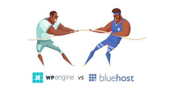 wpengine vs bluehost differences