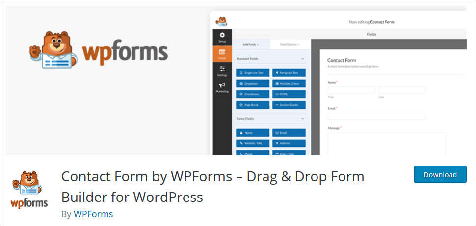 wpforms wordpress survey plugins