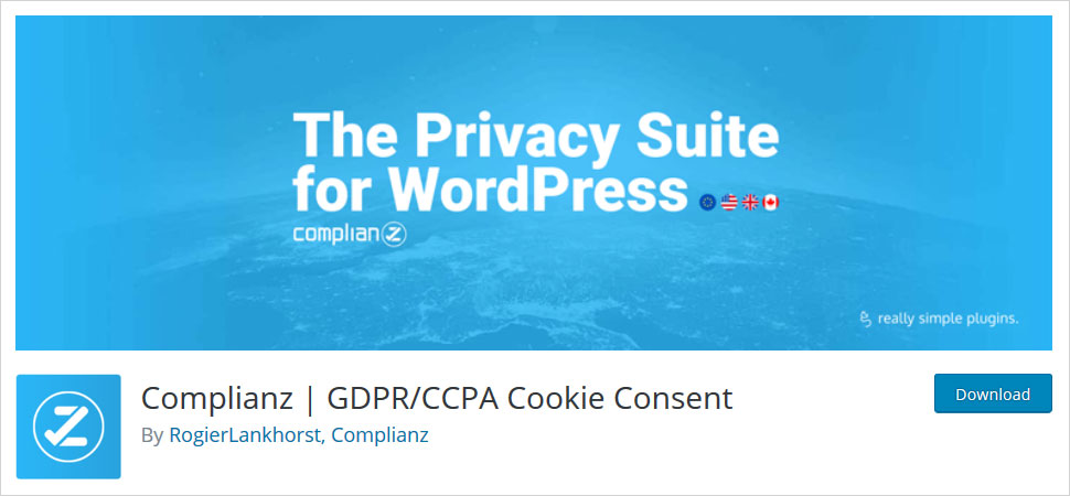 complianz gdpr cookie consent