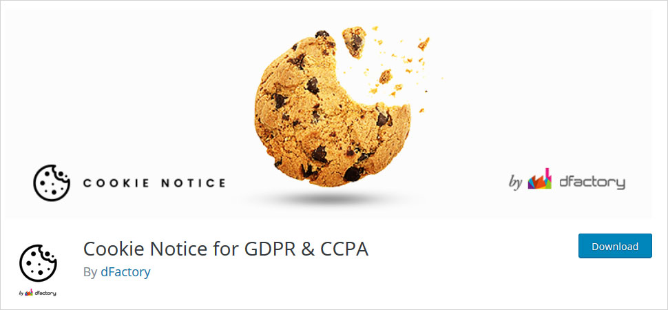 cookie notice for gdpr and ccpa