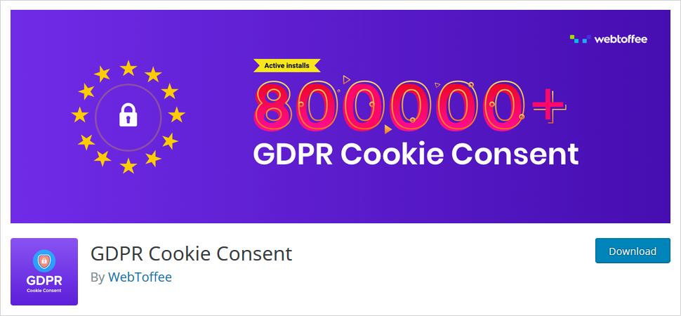 gdpr cookie consent wordpress plugin