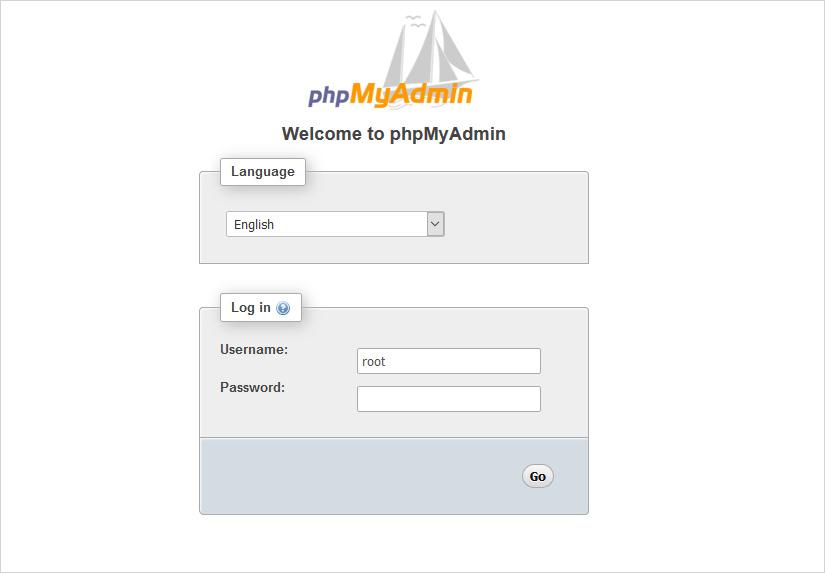 mySQL phpmyadmin database