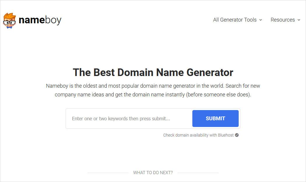 nameboy blog name generator
