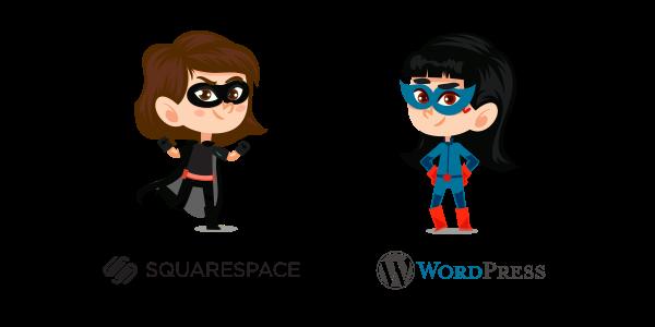 squarespace vs wordpress differences