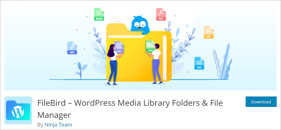 FileBird WordPress Media Library Folders and File Manager