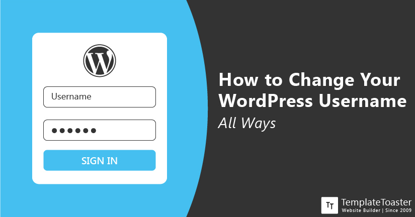 How to Change Your WordPress Username All Ways