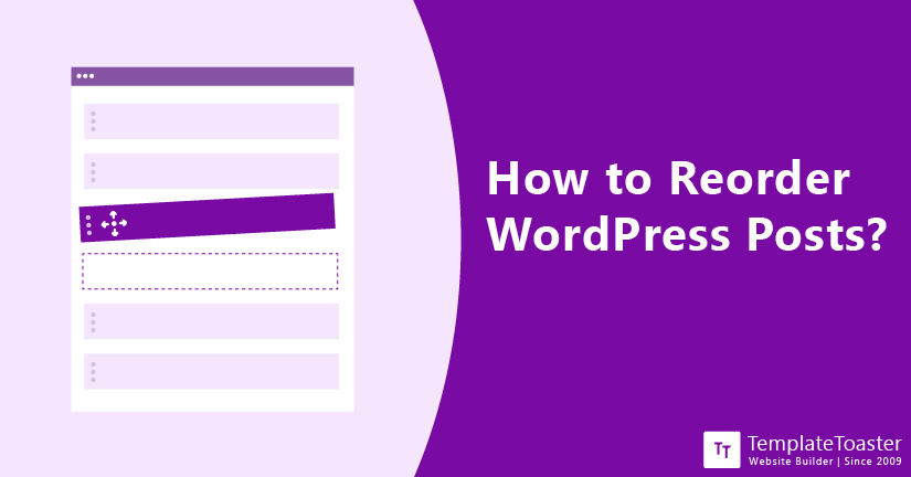 How to Reorder WordPress Posts