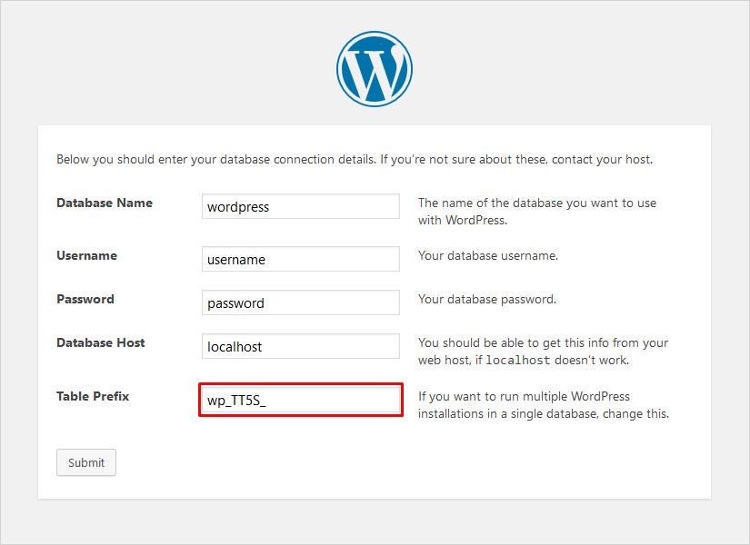 How to Change WordPress Database Prefix