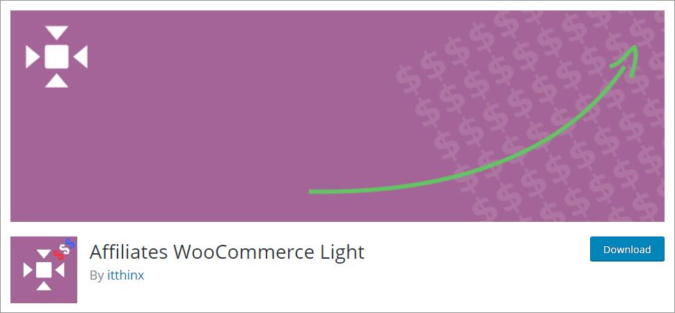 Affiliates WooCommerce Light