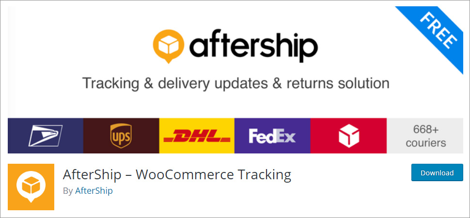 AfterShip WooCommerce Tracking