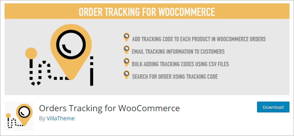 Orders Tracking for WooCommerce