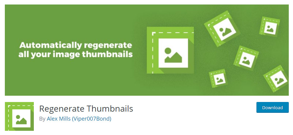 Regenerate Thumbnails in WordPress