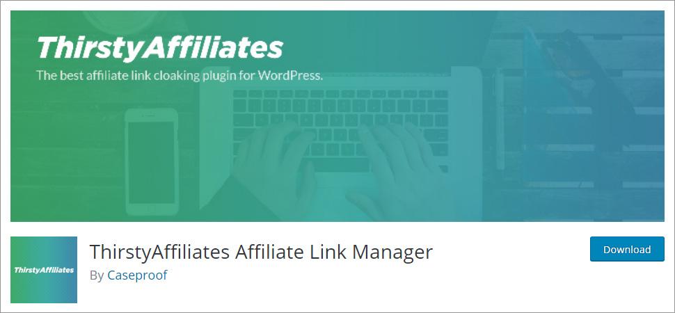 ThirstyAffiliates WordPress affiliate plugin