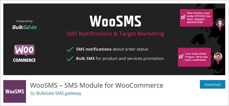 WooSMS SMS Module for WooCommerce