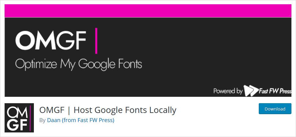 omgf wordpress plugin
