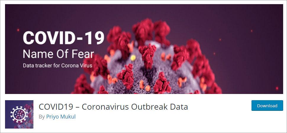 COVID19 Coronavirus Outbreak Data