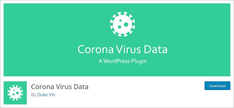 Corona Virus Data stats