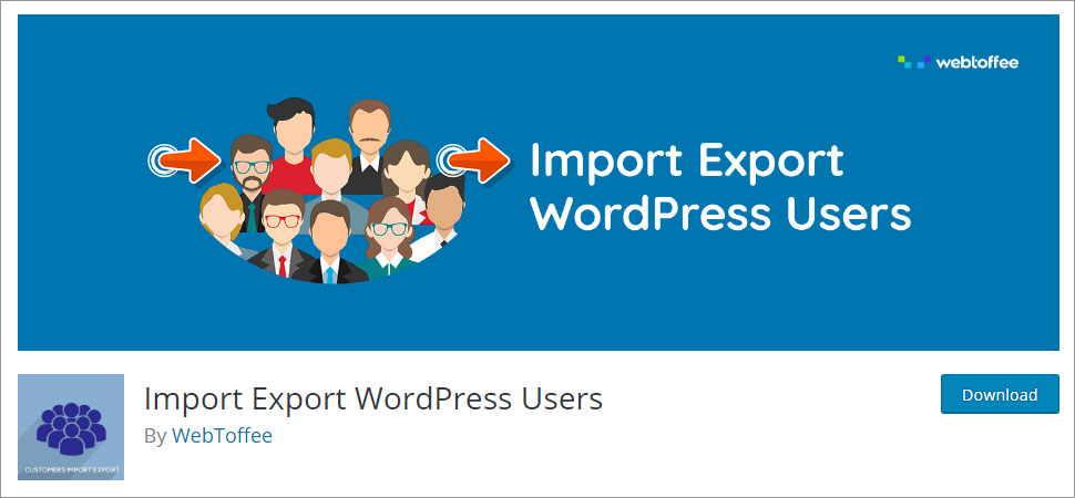 Import Export WordPress Users using Plugin