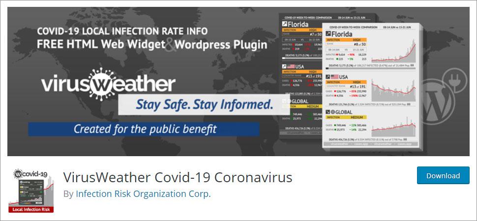 VirusWeather Covid 19 Coronavirus