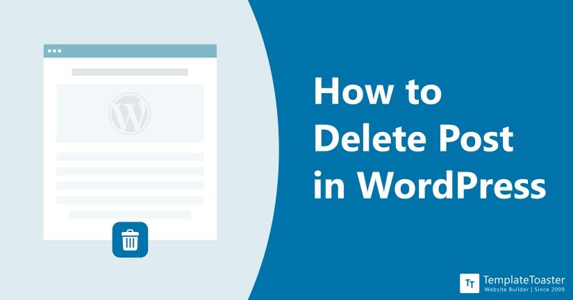 How to Delete Post in WordPress